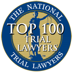 top 100 lawyers badge